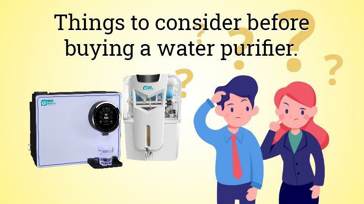 Things To Consider Before Buying A Water Purifier