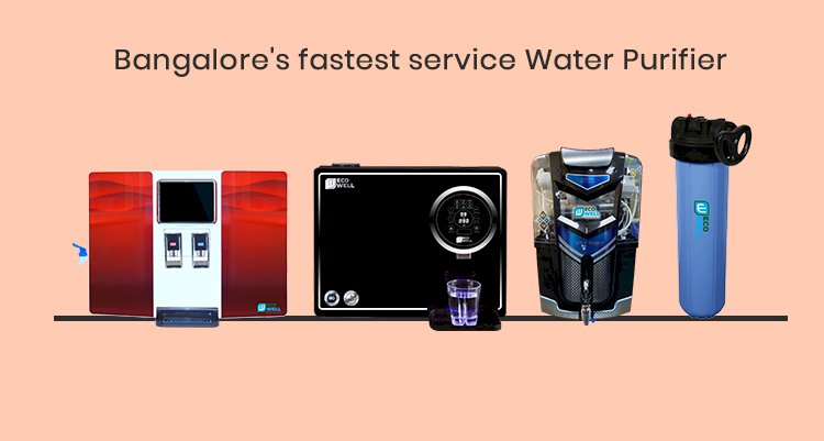 Bangalore's Fastest Water Purifier Service Brand || Ecowell India