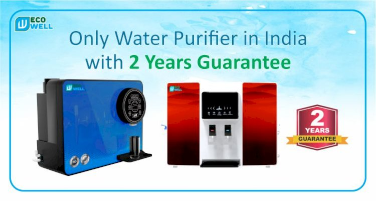 Only Water Purifier in India with 2 Years Guarantee || Ecowell India