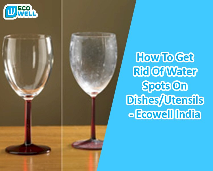 How To Get Rid Of Water Spots On Dishes/Utensils - Ecowell India